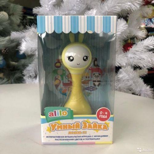 Зайка Alilo интерактивная игрушка