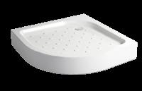 Поддон акриловый Метакам CLASSIC полукруг Низкий для инвалидов 90х90х10х7 без сифона (сифон Д 120 XS-608)