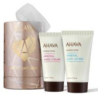 Ahava Deadsea Water МЖ Набор Минеральный дуэт (минеральный крем для рук 40 мл+минеральный крем для тела 40 мл)