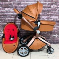 Детская коляска 2в1 Hot Mom