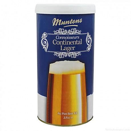 Солодовый экстракт Muntons Continental Lager, 1,8 кг