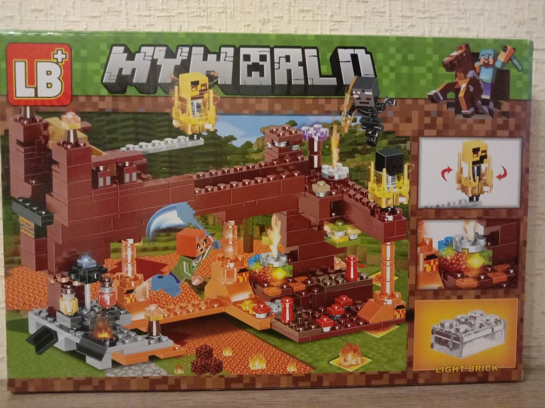 "Конструктор MY WORLD ""Замок с привидениями"""