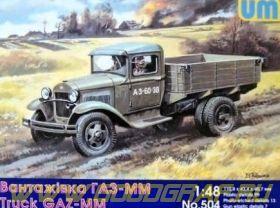 Советский Горьковский грузовик ММ