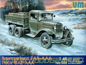 Советский Горьковский грузовик AAA