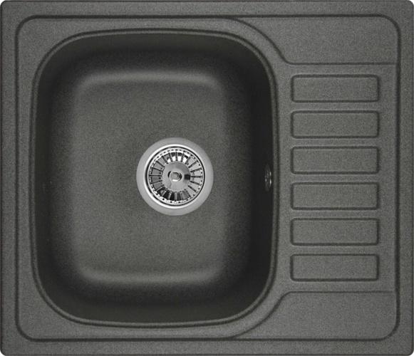 Врезная кухонная мойка Granula 5801 57.5х49.5см