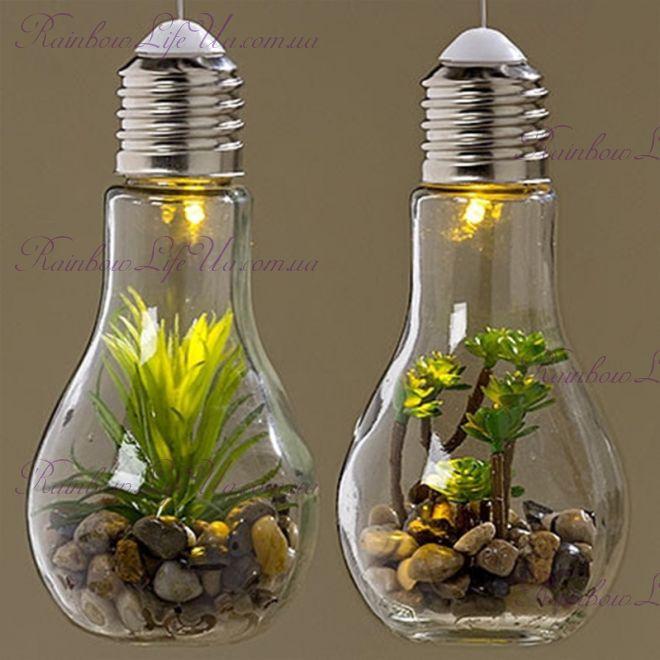 """Светодиодная лампа ночник с Led установкой """"Растения"""""""