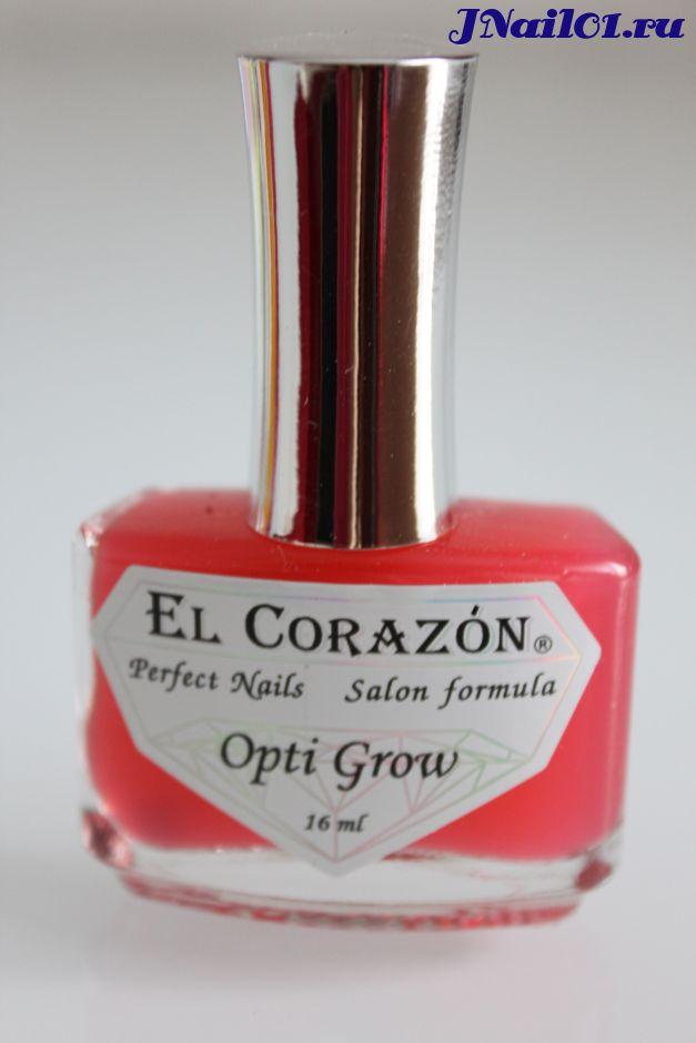 El Corazon Opti growl (Средство для ускорения роста и омоложения ногтей) №429, 16 мл