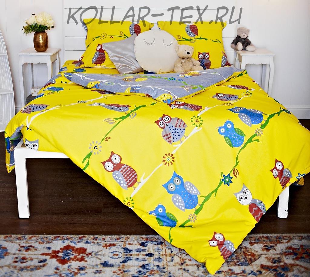 Постельное белье из фланели Совы, ASHGABAT DOKMA TOPLUMY