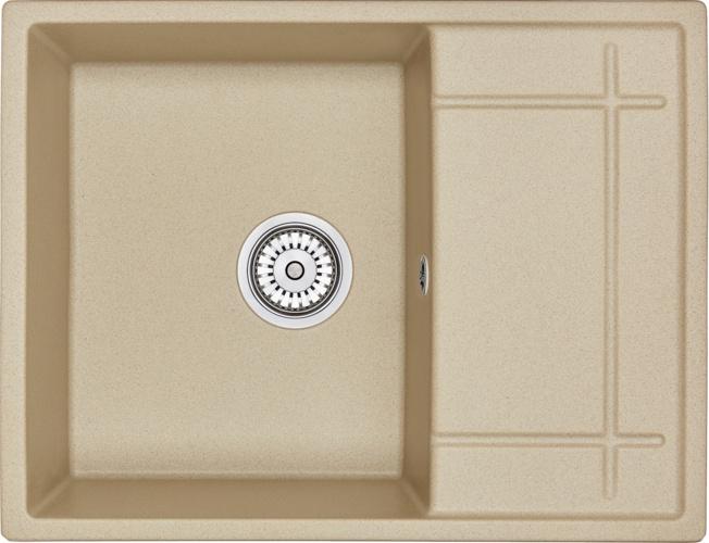 Врезная кухонная мойка Granula 6501 65х49.5см