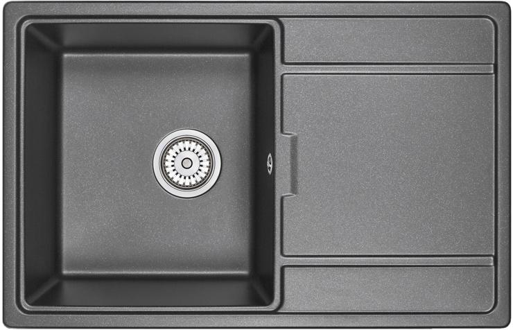 Врезная кухонная мойка Granula 7804 78х50см