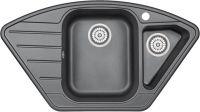 Врезная кухонная мойка Granula 9001 90х52см