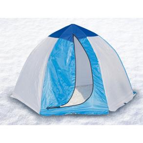 Палатка для зимней рыбалки Стэк 3 с брезентом (п/автомат)