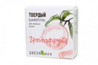 Green Era Твердый шампунь Грейпфрут, для жирных волос