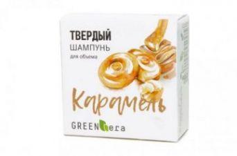 Green Era Твердый шампунь Карамель, для объема волос