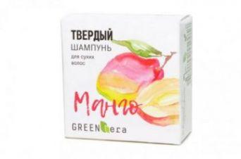 Green Era Твердый шампунь Манго, для сухих волос