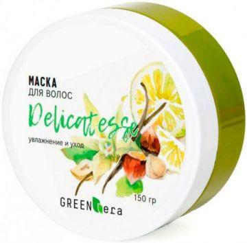 Green Era Маска увлажнение и уход за поврежденными волосами Деликатес 180 мл