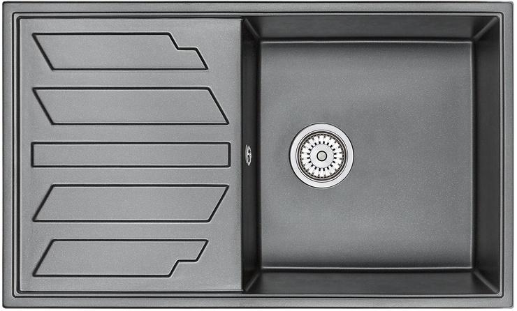 Врезная кухонная мойка Granula 8601 86х50см