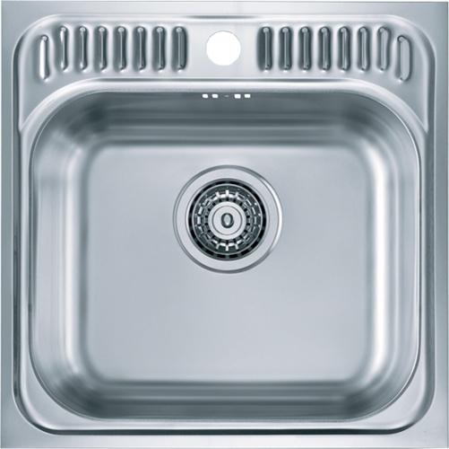 Врезная кухонная мойка ALVEUS Basic 140 46.5х46.5см