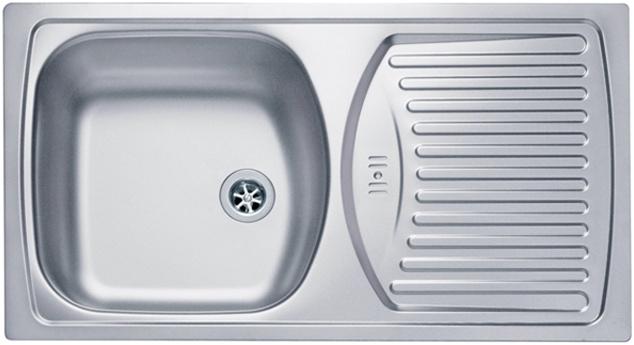 Врезная кухонная мойка ALVEUS Basic 150 78х43.5см