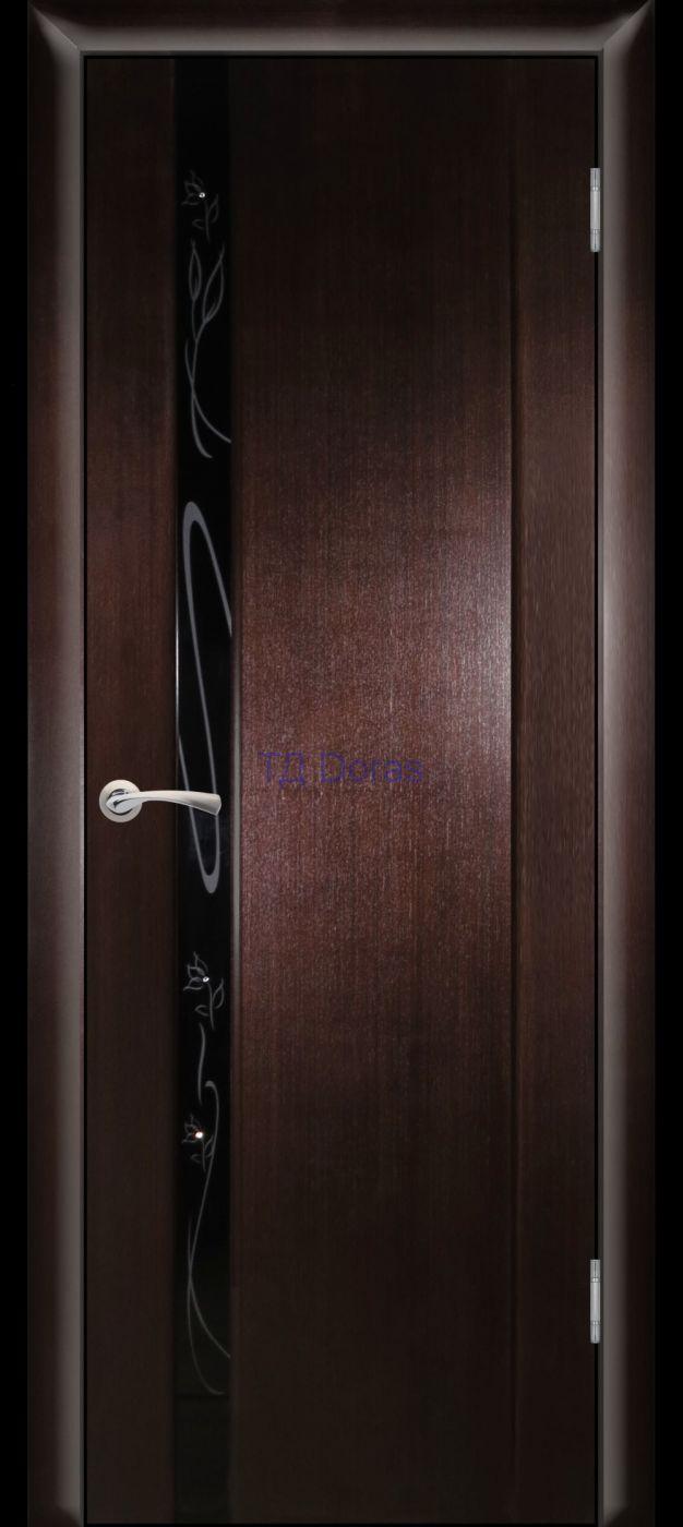 Hi-Tech межкомнатная дверь «Плаза 1» цвет Венге