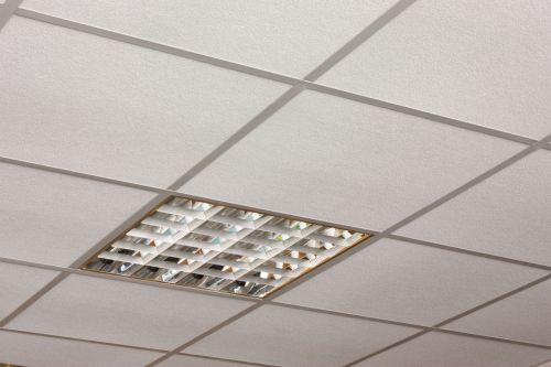 Потолок системы армстронг в сборе