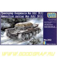Транспортер боеприпасов Mun Schl 38(t)