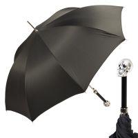 Зонт-Трость Pasotti Capo Silver Oxford Black