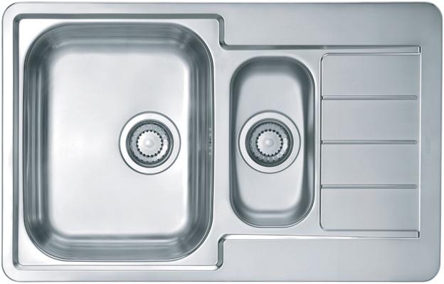 Врезная кухонная мойка ALVEUS Line 70 79х50см