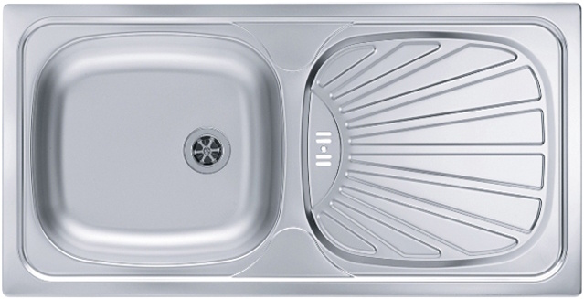 Врезная кухонная мойка ALVEUS Basic 80 86х43.5см 1008844