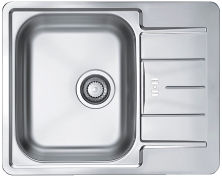 Врезная кухонная мойка ALVEUS Line Maxim 60 61.5х50см