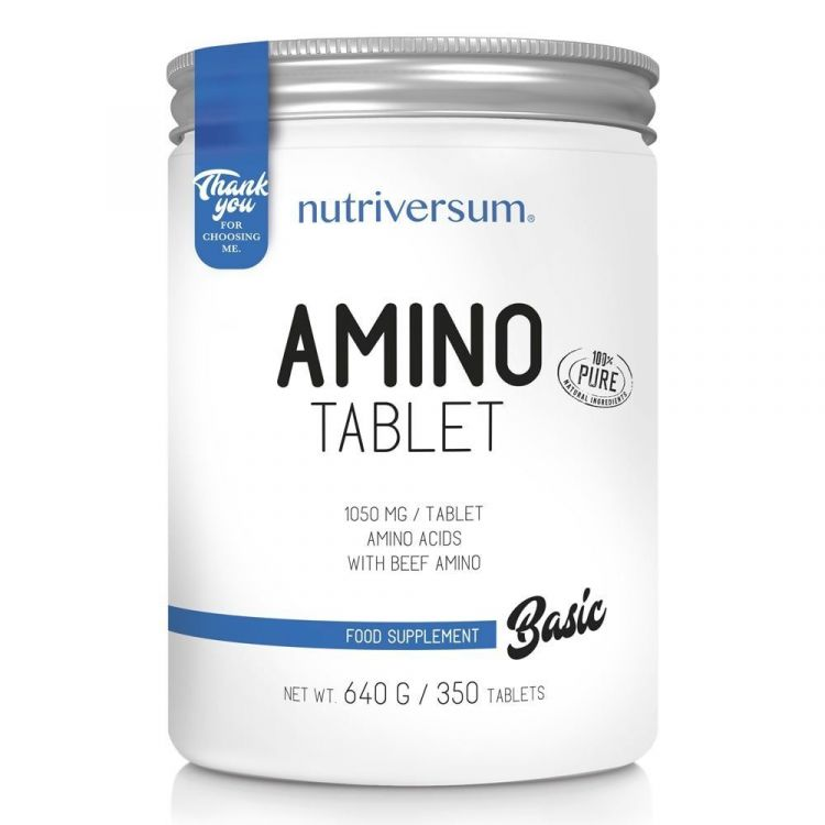 Amino Tablet 350 таб от Nutriversum