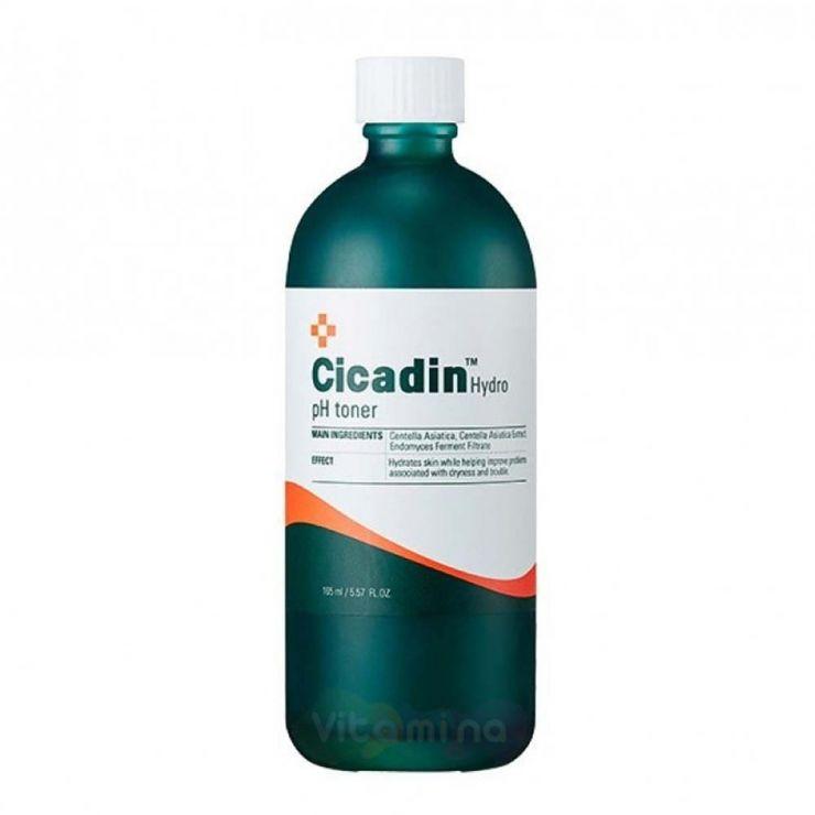 Missha Тонер для лица с экстрактом центеллы азиатской Cicadin Hydro pH Toner, 165 мл