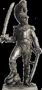 Офицер шеволежерского полка. Франция, 1811-15 гг. (олово)
