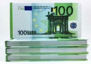 Отрывной блокнот 100 €