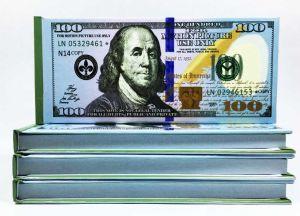 Отрывной блокнот 100 $