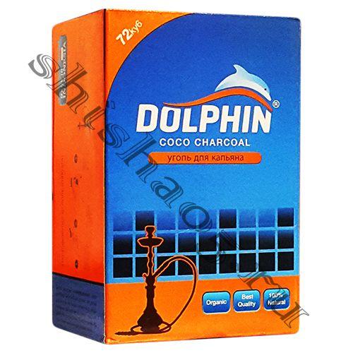 Уголь Dolphin - BIG 25мм³ (72куб)