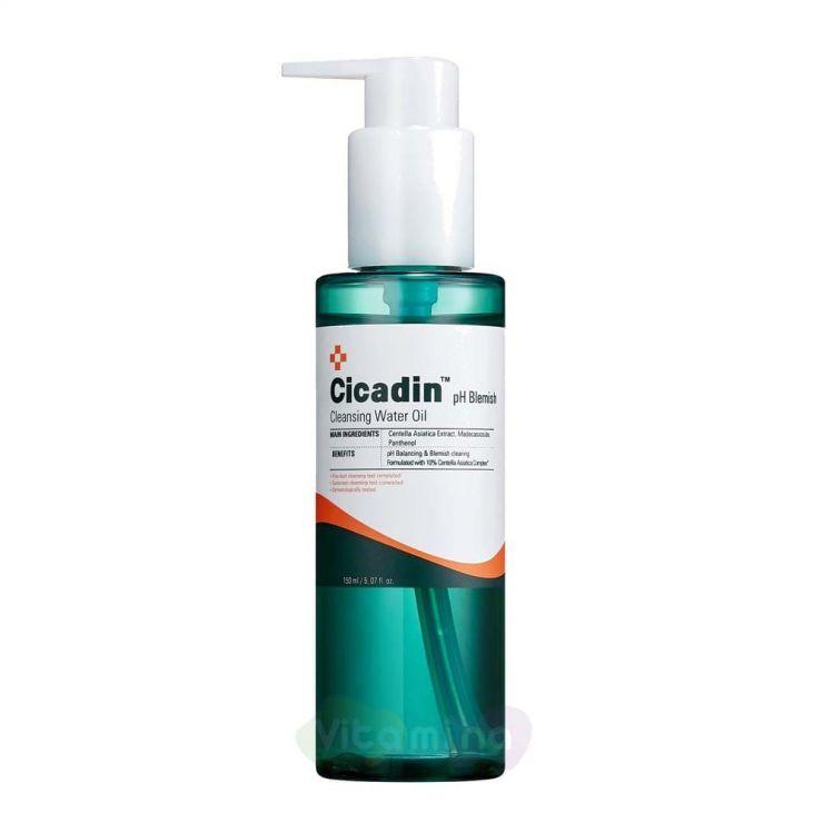 Missha Очищающее масло с центеллой для лица Cicadin pH Blemish Cleansing Water Oil, 150 мл