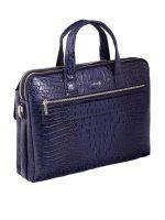 Кожаная мужская сумка Narvin 9759-N.Bambino D.Blue