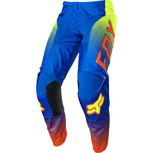 Fox 2021 180 Oktiv Blue штаны для мотокросса