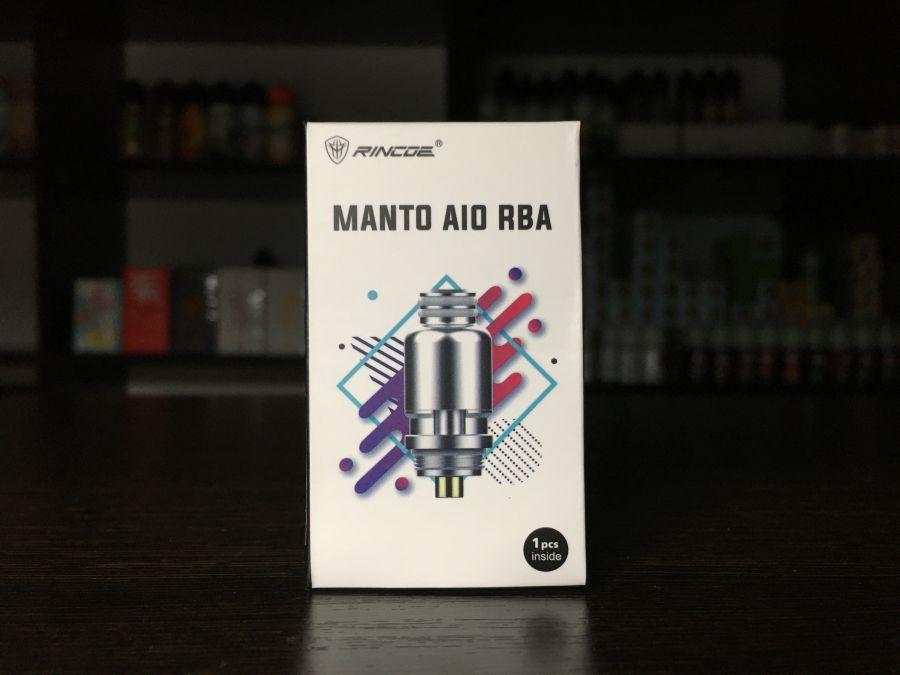Rincoe Manto AIO Replacement RBA Coil (оригинал)
