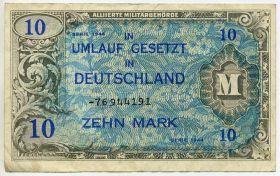 Германия 10 марок 1944