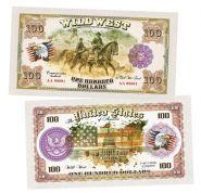100 долларов США - Гражданская война в США (The civil war in the United States). Памятная банкнота