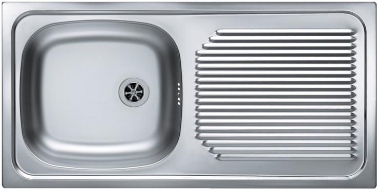 Врезная кухонная мойка ALVEUS Basic 60 86х43.5см арт.1009181 Декор
