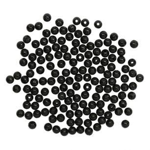 6мм Бусины круглые пластик (1шт)