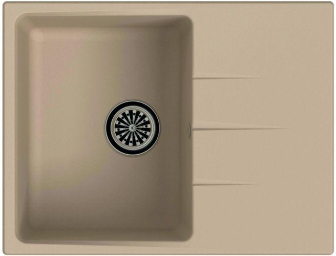 Врезная кухонная мойка Ewigstein Gerd 45F 65х50см