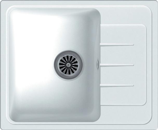 Врезная кухонная мойка Ewigstein Elegant 45F 58х48см