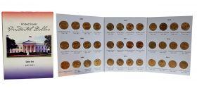 Набор 1 доллар - Президенты США 36шт в оригинальном альбоме