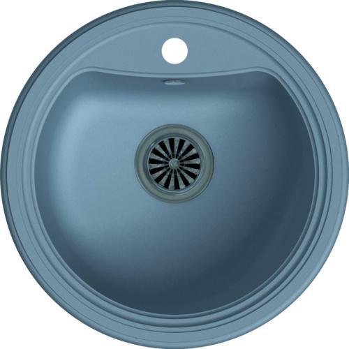 Врезная кухонная мойка Ewigstein Antik R50 52х52см