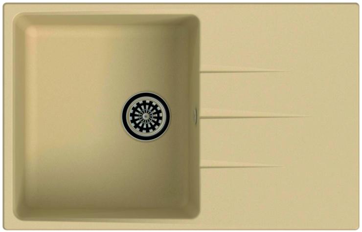 Врезная кухонная мойка Ewigstein Gerd 60F 78х50см