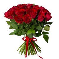 25 роз 50см Кения (цвет на выбор)